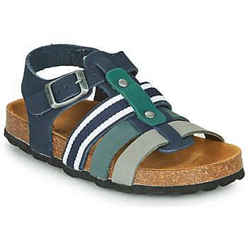 Topánky Chlapci Sandále André TRISTAN Námornícka modrá