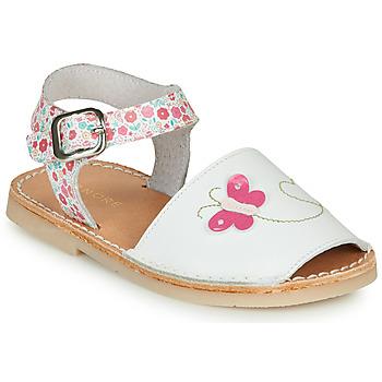 Topánky Dievčatá Sandále André SILENA Biela