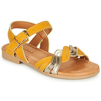 Topánky Dievčatá Sandále André TRESSIA Žltá