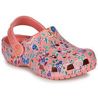Topánky Ženy Nazuvky Crocs LIBERTY LONDON X CLASSIC LIBERTY GRAPHIC CLOG K Ružová