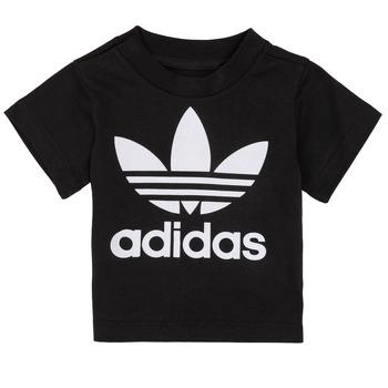 Oblečenie Deti Tričká s krátkym rukávom adidas Originals MARGOT Čierna