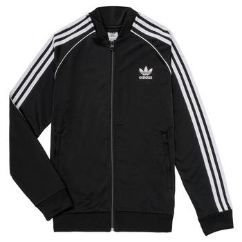 Oblečenie Deti Vrchné bundy adidas Originals LYAM Čierna