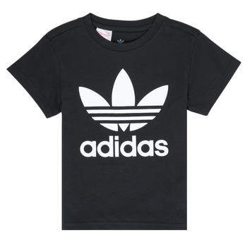 Oblečenie Deti Tričká s krátkym rukávom adidas Originals LEILA Čierna