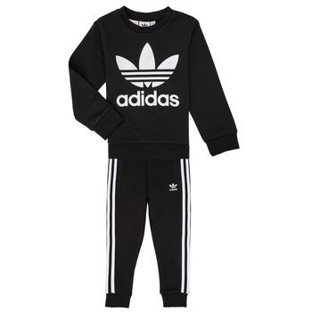 Oblečenie Deti Komplety a súpravy adidas Originals LOKI Čierna