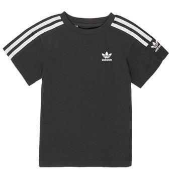 Oblečenie Chlapci Tričká s krátkym rukávom adidas Originals MINACHE Čierna