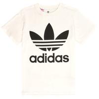Oblečenie Deti Tričká s krátkym rukávom adidas Originals SARAH Biela