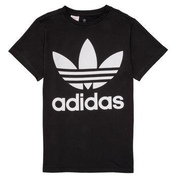 Oblečenie Deti Tričká s krátkym rukávom adidas Originals MAXENCE Čierna