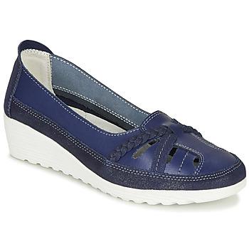 Topánky Ženy Balerínky a babies Damart MILANI Námornícka modrá