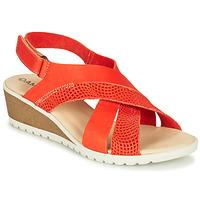 Topánky Ženy Sandále Damart MAYLO Paprika