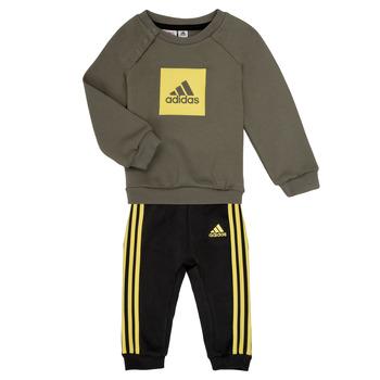 Oblečenie Chlapci Komplety a súpravy adidas Performance MERLO Šedá / Žltá