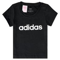 Oblečenie Dievčatá Tričká s krátkym rukávom adidas Performance NATRAZ Čierna