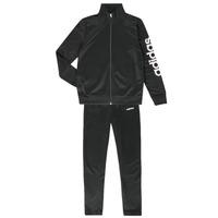 Oblečenie Chlapci Súpravy vrchného oblečenia adidas Performance GOMEZ Čierna