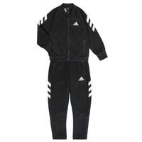 Oblečenie Chlapci Súpravy vrchného oblečenia adidas Performance MARKEL Čierna