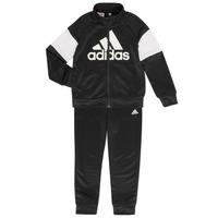 Oblečenie Chlapci Súpravy vrchného oblečenia adidas Performance AMAURY Čierna