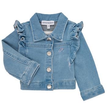 Oblečenie Dievčatá Saká a blejzre Emporio Armani Aldric Modrá