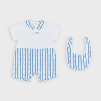 Oblečenie Chlapci Módne overaly Emporio Armani Adam Modrá