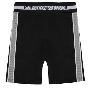 Oblečenie Chlapci Šortky a bermudy Emporio Armani Aubert Čierna