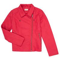 Oblečenie Dievčatá Kožené bundy a syntetické bundy Only KONCARLA Ružová