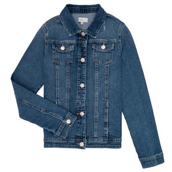 Oblečenie Dievčatá Džínsové bundy Only KONSARA Modrá