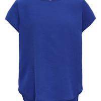 Oblečenie Dievčatá Blúzky Only KONVICTORIA Námornícka modrá