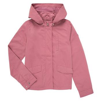 Oblečenie Dievčatá Bundy  Only KONNEWSKYLAR Ružová