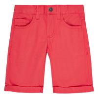 Oblečenie Chlapci Šortky a bermudy Name it NKMSOFUS TWIISAK Červená