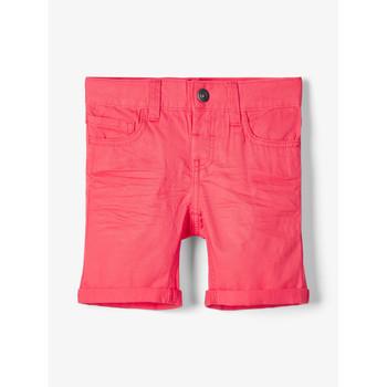 Oblečenie Chlapci Šortky a bermudy Name it NMMSOFUS TWIISKA Červená