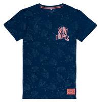 Oblečenie Dievčatá Tričká s krátkym rukávom Name it NKMFARRAN Námornícka modrá