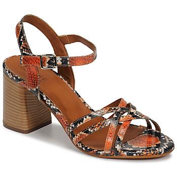 Topánky Ženy Sandále André BRYNN Oranžová
