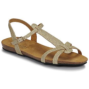 Topánky Ženy Sandále André BORA Zlatá