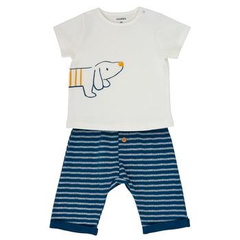 Oblečenie Chlapci Komplety a súpravy Noukie's MALO Biela