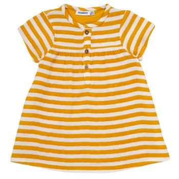 Oblečenie Dievčatá Krátke šaty Noukie's YOUNES Žltá