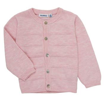 Oblečenie Dievčatá Cardigany Noukie's NOAM Ružová