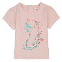 Oblečenie Dievčatá Tričká s krátkym rukávom Carrément Beau NOLAN Ružová