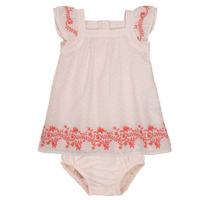 Oblečenie Dievčatá Krátke šaty Carrément Beau SAMY Ružová