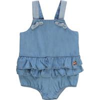 Oblečenie Dievčatá Módne overaly Carrément Beau KYAN Modrá