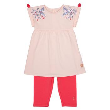 Oblečenie Dievčatá Komplety a súpravy Carrément Beau AIMEE Ružová