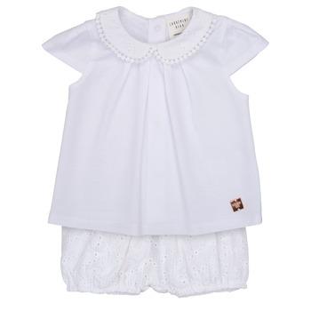 Oblečenie Dievčatá Komplety a súpravy Carrément Beau LORELLI Biela