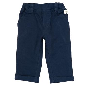 Oblečenie Chlapci Nohavice päťvreckové Carrément Beau ORNANDO Modrá