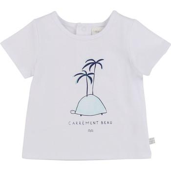 Oblečenie Chlapci Tričká s krátkym rukávom Carrément Beau MARTINEZ Biela