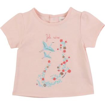 Oblečenie Dievčatá Tričká s krátkym rukávom Carrément Beau JUSTINE Ružová