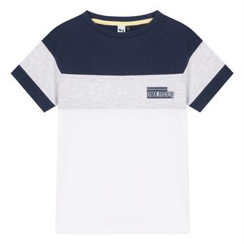 Oblečenie Chlapci Tričká s krátkym rukávom 3 Pommes NORA Biela