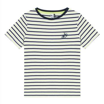 Oblečenie Chlapci Tričká s krátkym rukávom 3 Pommes NORDINE Žltá