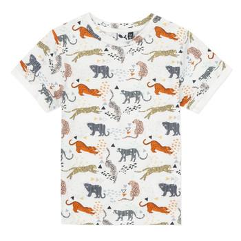 Oblečenie Chlapci Tričká s krátkym rukávom 3 Pommes ARIANE Oranžová