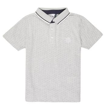 Oblečenie Chlapci Polokošele s krátkym rukávom 3 Pommes MADYSON Námornícka modrá