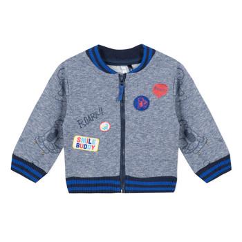 Oblečenie Chlapci Mikiny 3 Pommes VALENTIN Modrá