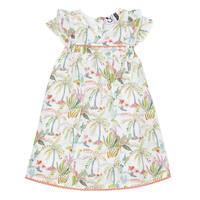 Oblečenie Dievčatá Krátke šaty 3 Pommes SANDRINE Biela