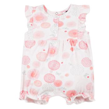 Oblečenie Dievčatá Módne overaly 3 Pommes ELOISE Biela