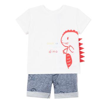Oblečenie Chlapci Komplety a súpravy 3 Pommes ANOUCK Biela