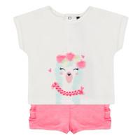 Oblečenie Dievčatá Komplety a súpravy 3 Pommes JULIEN Ružová
